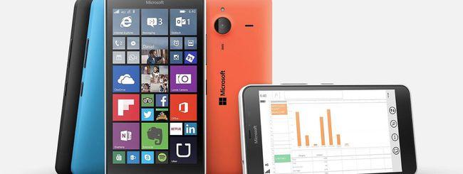 Windows 10 Fall Creators Update non sui Lumia 640