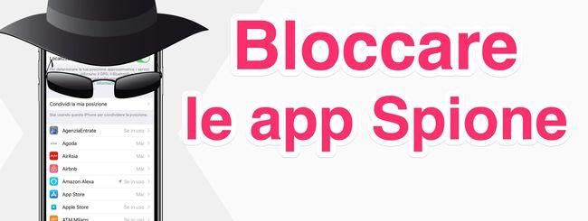Le app di iPhone ti spiano: ecco come bloccare la localizzazione