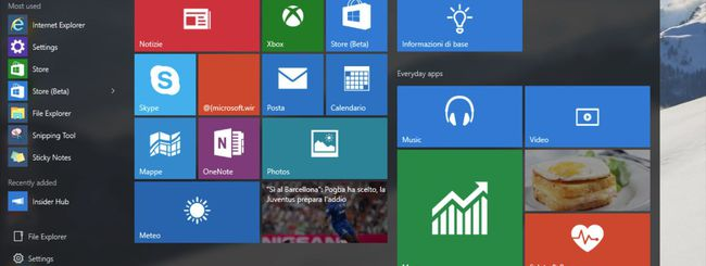 Windows 10, l'upgrade gratuito si può prenotare
