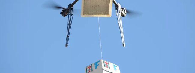 Droni: 7-Eleven batte Amazon e Google