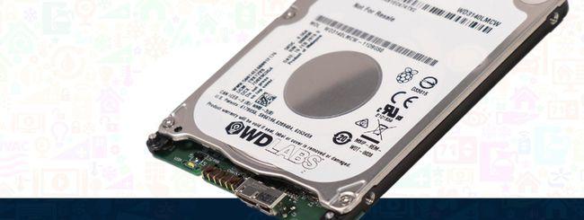 WD PiDrive, hard disk da 314 GB per Raspberry Pi