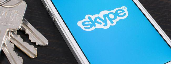Skype, condivisione di file sino a 300 MB