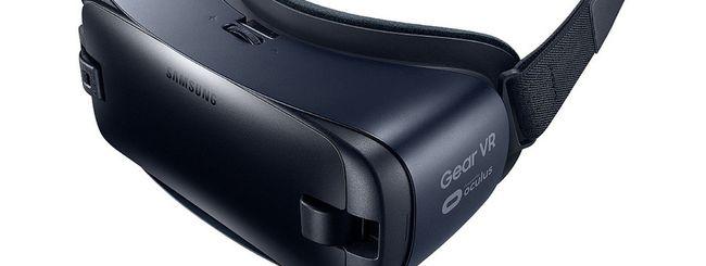 Samsung aggiorna il visore Gear VR
