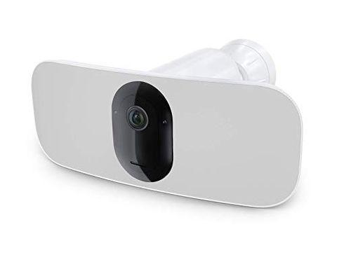 Arlo Pro 3 Floodlight, Telecamera di sorveglianza senza fili, Riflettore e Sirena integrati