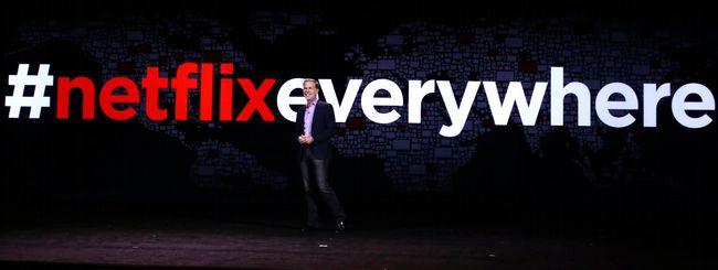 Netflix ora è in tutto il mondo