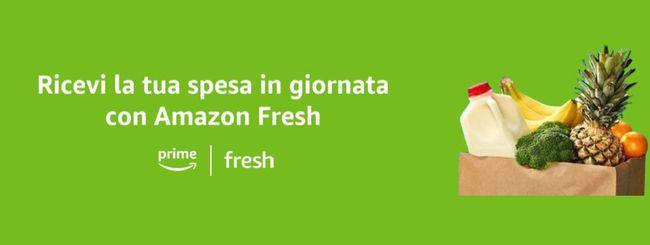 Amazon Fresh arriva anche a Roma