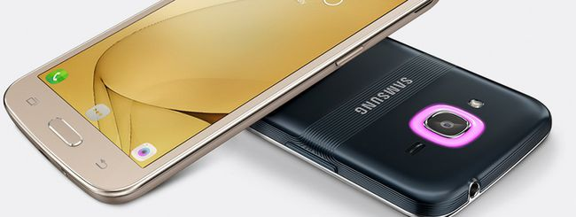 Samsung Galaxy J2 (2016) con notifiche Smart Glow