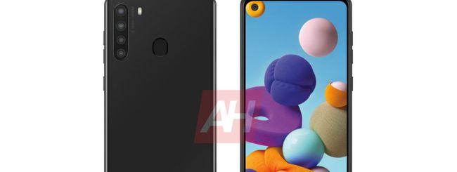 Samsung Galaxy A31 e A21, possibili specifiche