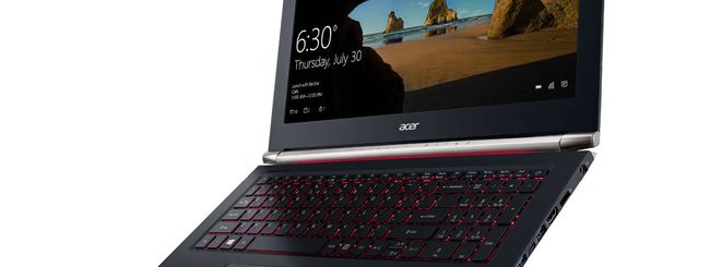 CES 2016, Acer Aspire V Nitro con Intel RealSense