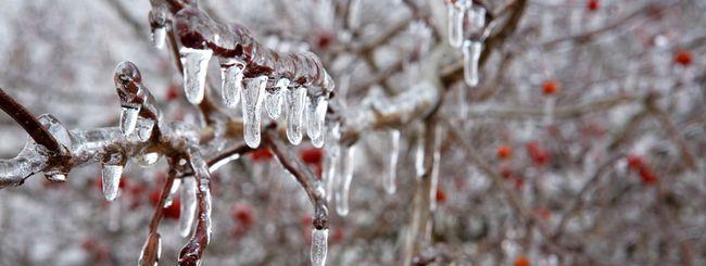 L'acqua congela a 105 gradi Celsius