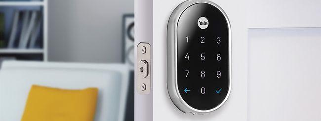 CES 2018: la serratura Nest x Yale per smart home