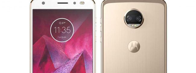Motorola Moto Z2 con Snapdragon 835 e Android 7.1