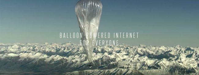 Project Loon: il segreto è nel vento