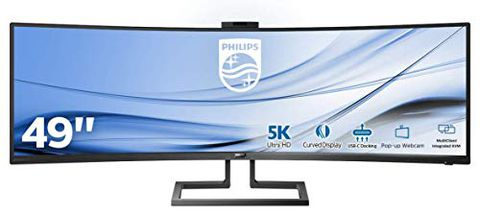 Philips Monitor Curvo 49″, Gaming Superwide 32:9