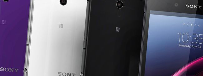 Android 4.4.2 per Xperia Z Ultra, Z1, Z1 Compact