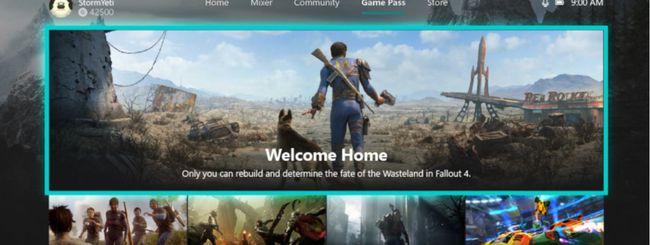 Xbox One, arriva la scheda dedicata al Game Pass