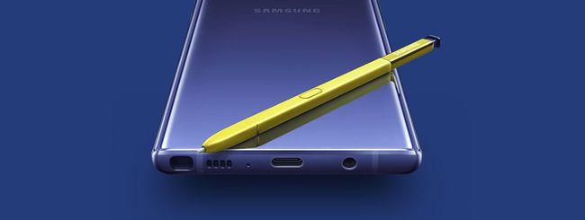 Galaxy Note 10, fotocamera nella stilo S Pen?