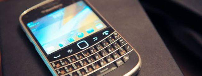Addio a Gmail per BlackBerry