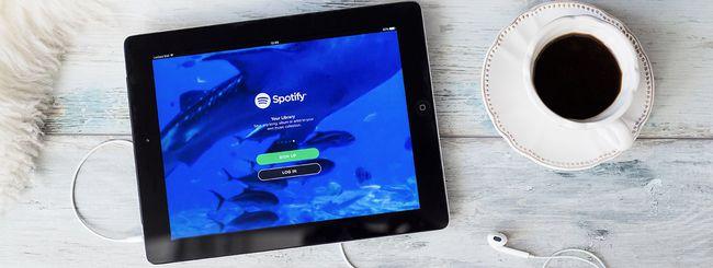 Spotify potrebbe lanciare l'ascolto lossless