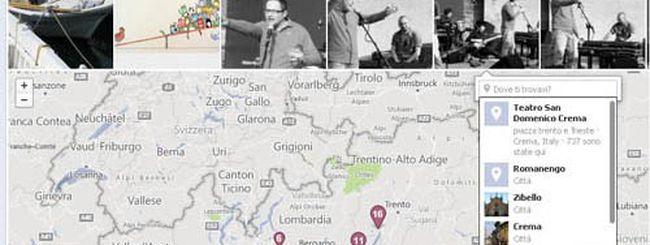 Facebook: come aggiungere foto alle mappe dei viaggi