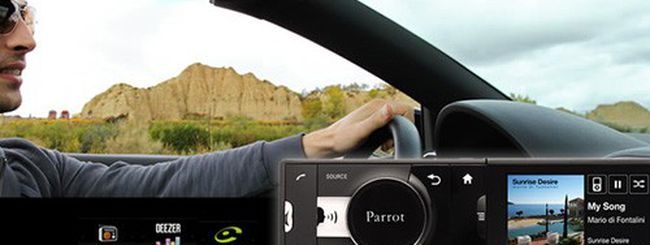 Parrot Asteroid, la prima autoradio Android