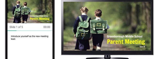 Le Presentazioni di Google su Chromecast e AirPlay