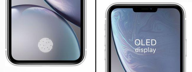 iPhone 13, Apple testa il sensore di impronte nel display
