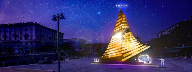 Oppo RX17 Pro e l'albero di Natale smart