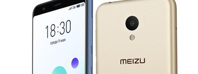 Meizu M8c, nuovo smartphone con schermo 18:9