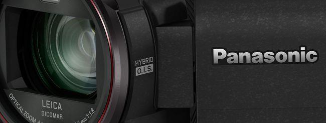 CES 2015: le nuove videocamere di Panasonic