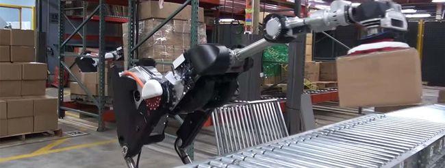 Boston Dynamics, in video il robot magazziniere