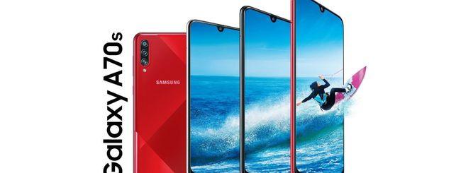 Samsung annuncia il Galaxy A70s