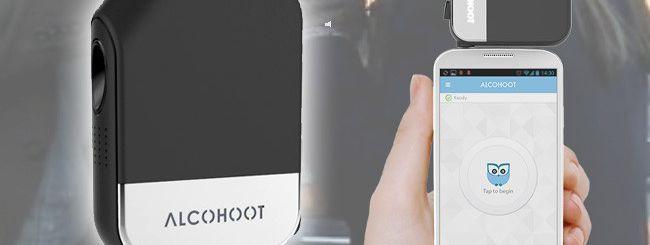 Alcohoot trasforma lo smartphone in etilometro