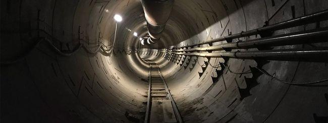 Elon Musk, il tunnel sotto Los Angeles è pronto