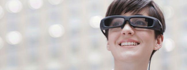 Sony SmartEyeglass in vendita dal 10 marzo