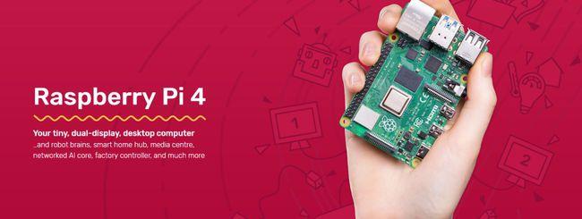 Raspberry Pi 4 con 2 GB di RAM a prezzo scontato
