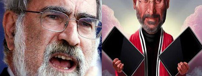 Rabbini inglesi VS Apple: Steve Jobs e iPad denigrano Mosé