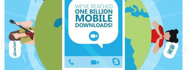 Skype Mobile, oltre un miliardo di download