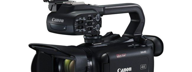 Canon amplia la gamma delle sue videocamere 4K