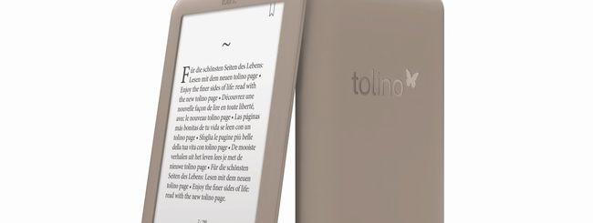 tolino page, ebook reader leggero ed economico