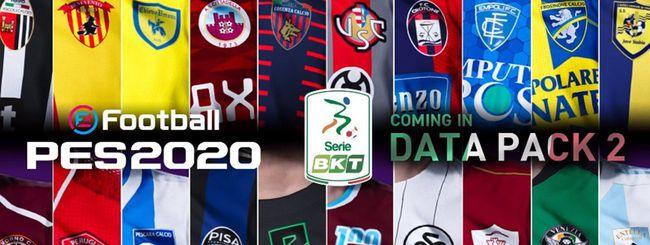 PES 2020, arriva la Serie B in esclusiva