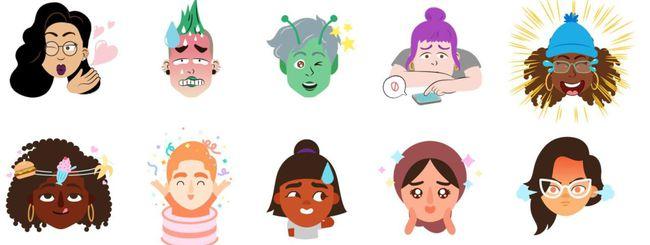 Google Gboard crea emoji dai selfie