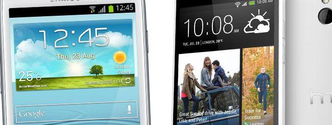 Samsung Galaxy S4 mini e HTC One mini