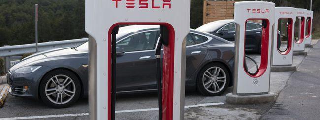 Tesla, Supercharger vietati per usi commerciali
