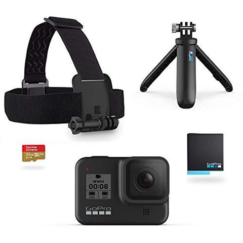 GoPro Pacchetto HERO8 Black (Con Accessori)