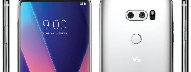 LG V30, prime immagini ufficiali