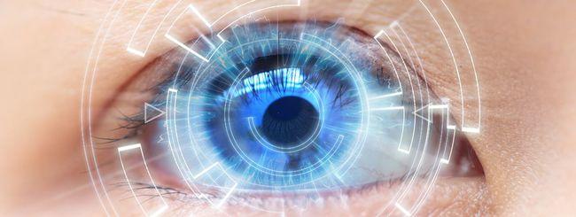 Lenti a contatto Samsung per la realtà aumentata