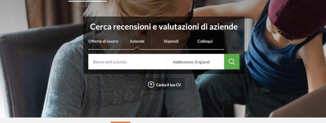In Italia Glassdoor: piattaforma per il recruiting