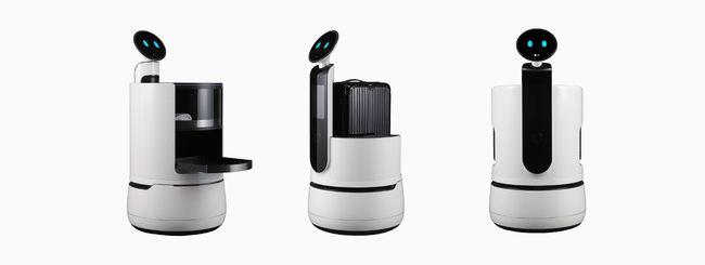 CES 2018, LG presenterà tre nuovi robot