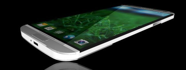 Galaxy S5 concept in metallo